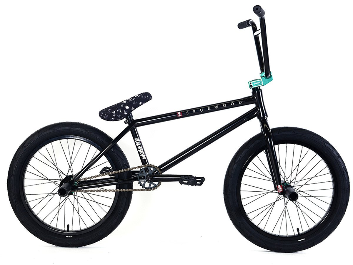 DIVISION BMX BIKE INTEGRATED BICYCLE HEADSET BLACK TEAL POLISHED PRIMO