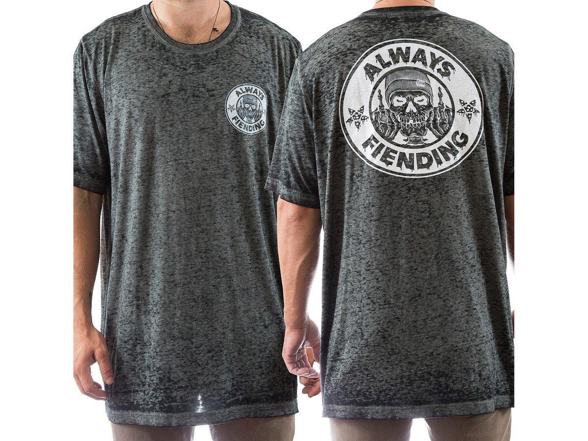 Fiend bmx reynolds t shirt acid washed kunstform bmx for Custom acid wash t shirts