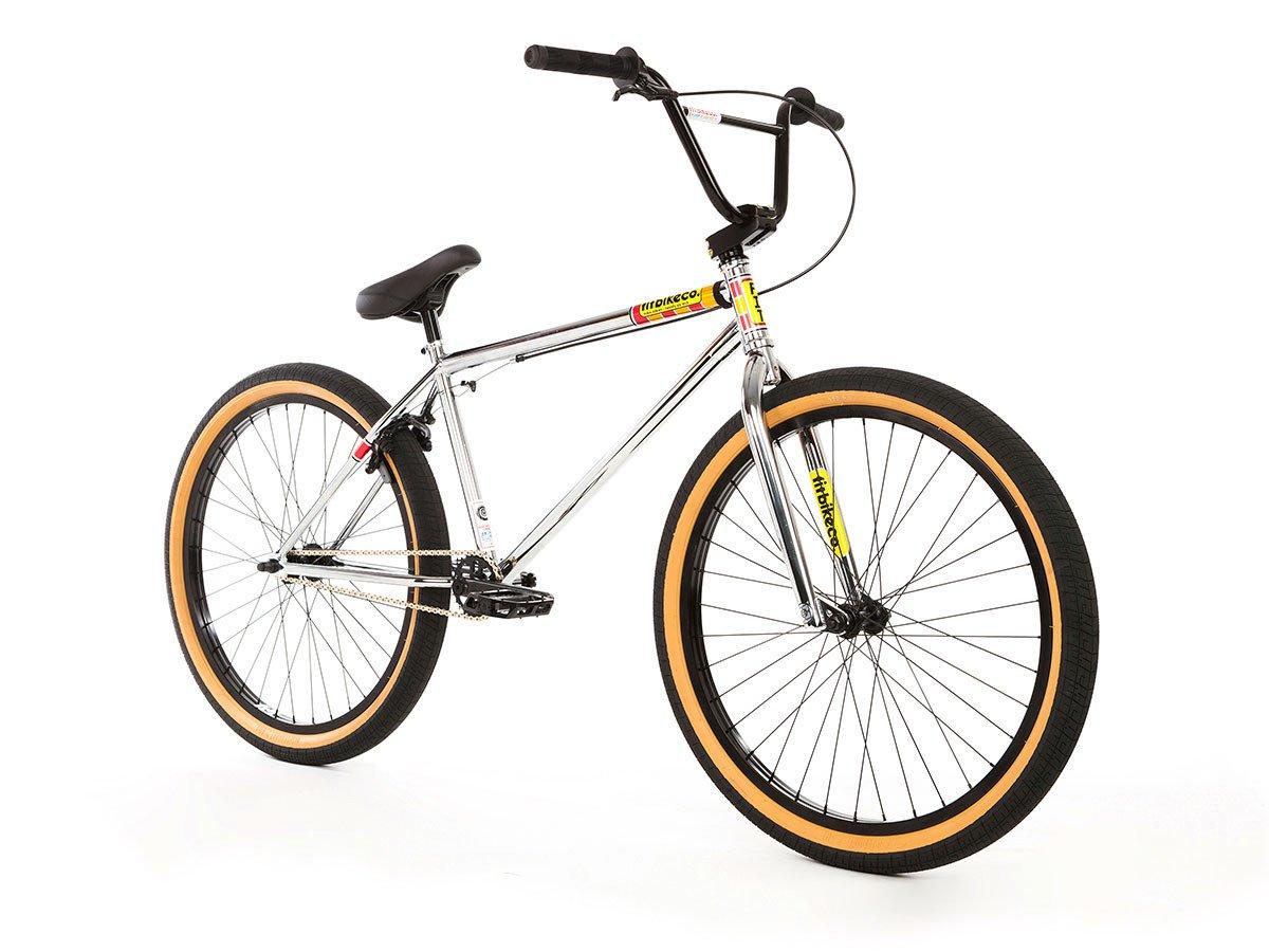 fit bike co aitken 26 2018 bmx cruiser bike 26 inch chrome kunstform bmx shop. Black Bedroom Furniture Sets. Home Design Ideas