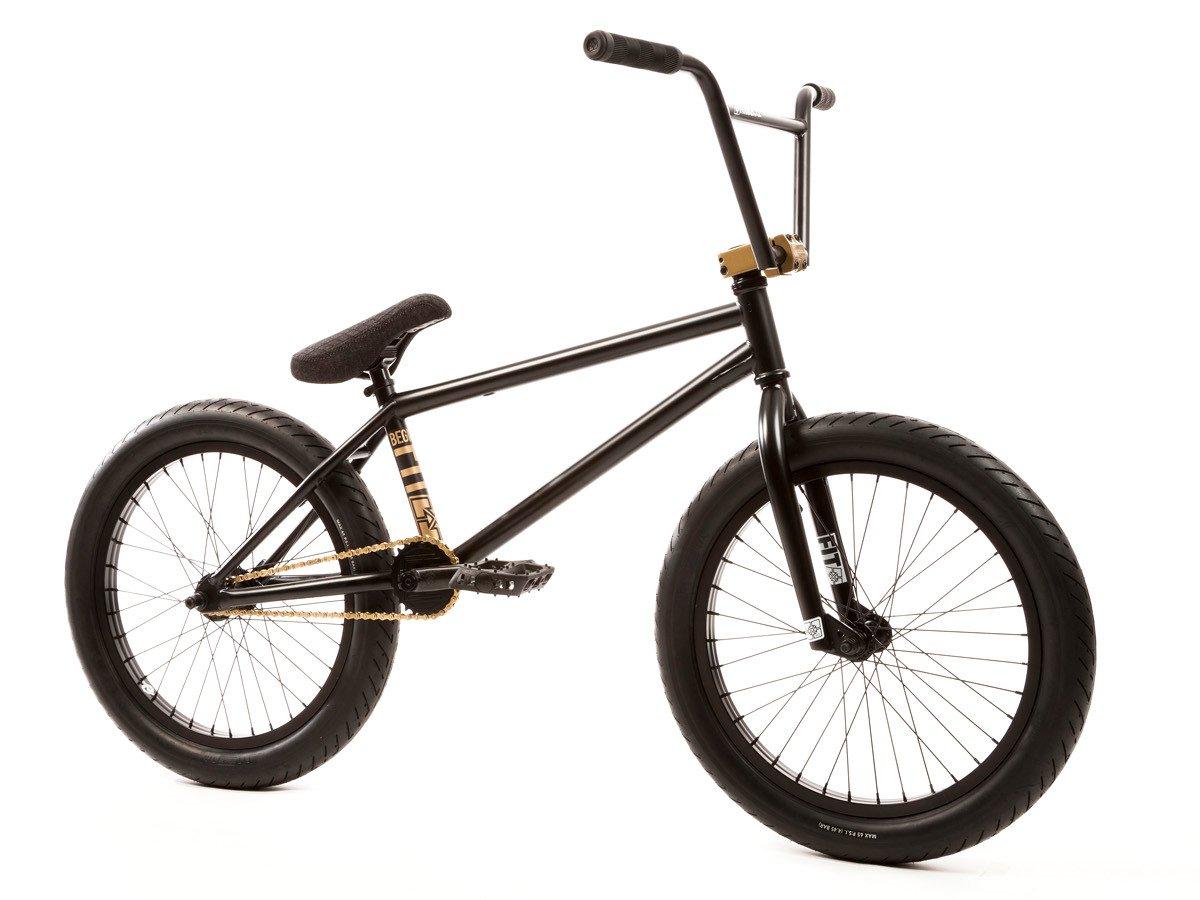 "Fit Bike Co. ""Begin 1"" 2017 BMX Bike - Matte Black ..."
