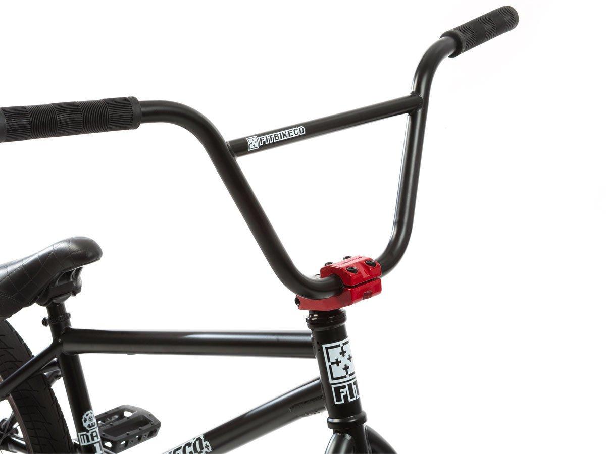 Fit Bike Co Mac 1 2017 Bmx Bike Matte Black Kunstform Bmx