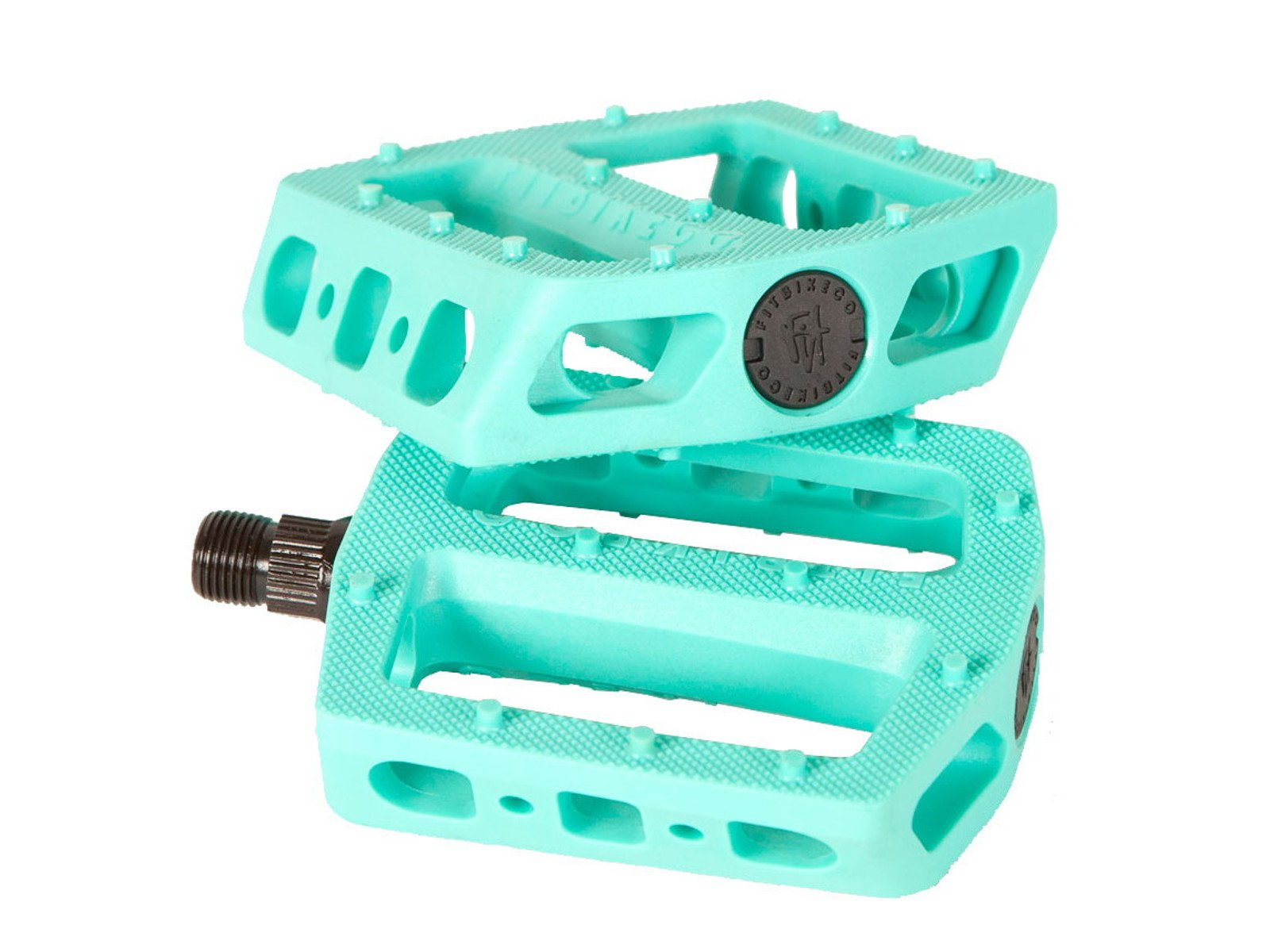 SHADOW CONSPIRACY SURFACE PLASTIC BMX BIKE PEDALS FIT HARO SUBROSA CULT SE BLUE