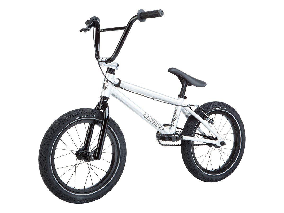 "Fit Bike Co. ""Misfit 16"" 2019 BMX Bike - 16 Inch | Brushed ..."