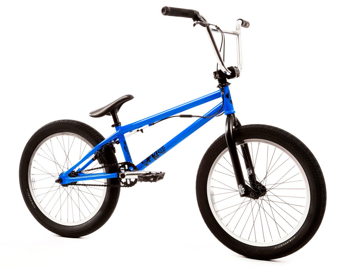 Fit bike co prk 2017 bmx bike gloss blue kunstform for Bmx store