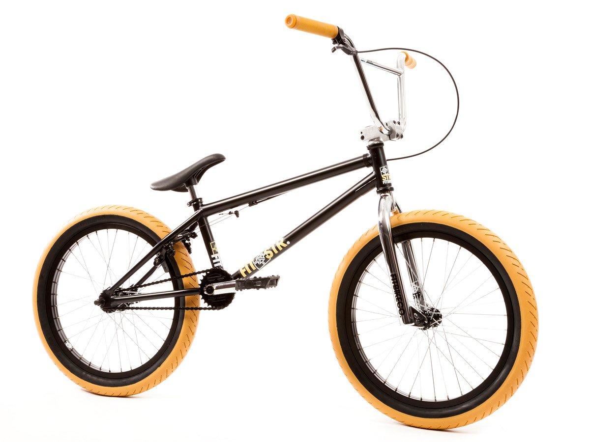Fit Bike Co Str 2017 Bmx Bike Matte Black Chrome