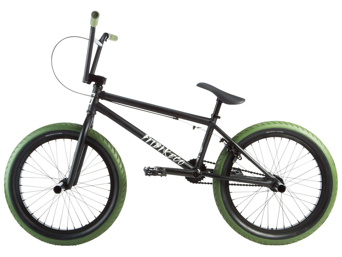 "Fit Bike Co. ""STR"" 2019 BMX Bike - Flat Black | kunstform ..."