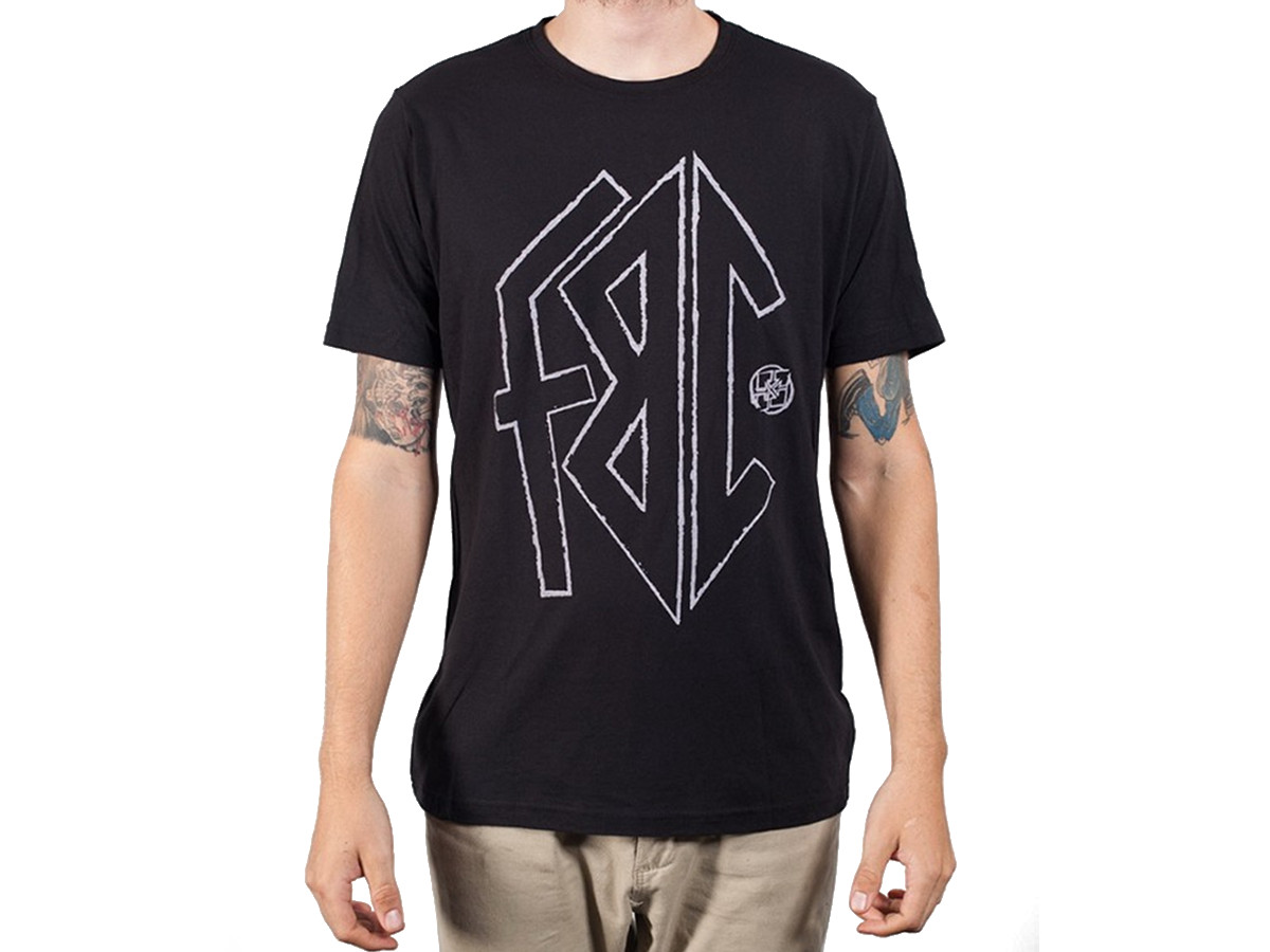 Fit bike co stink t shirt black kunstform bmx shop for Bike and cycle shoppe shirt