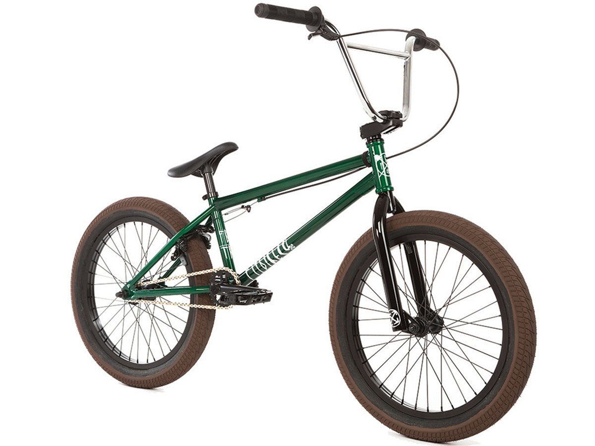 Fit Bike Co Trl 2018 Bmx Bike Trans Green Kunstform Bmx