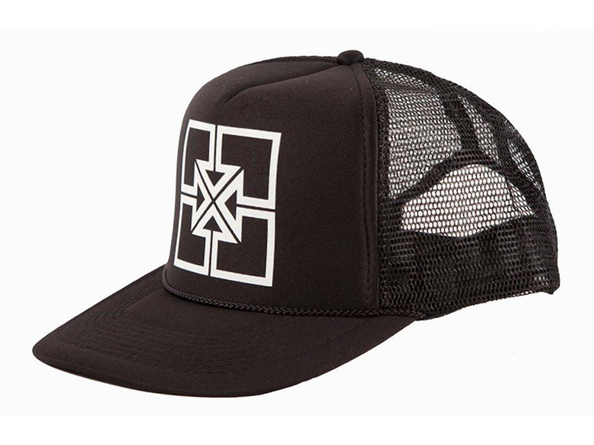 Trucker S/&M BMX Cap Black Shovel Shield