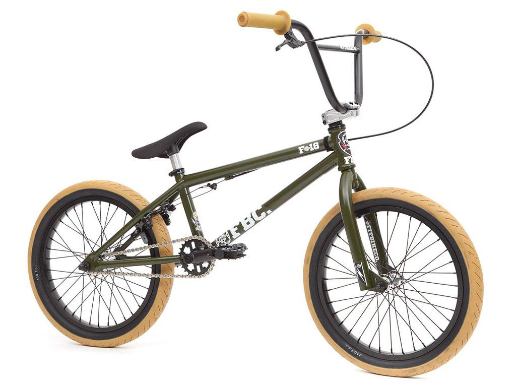"Fit Bike Co. ""18"" 2016 BMX Bike - 18 Inch / Matte Green ..."