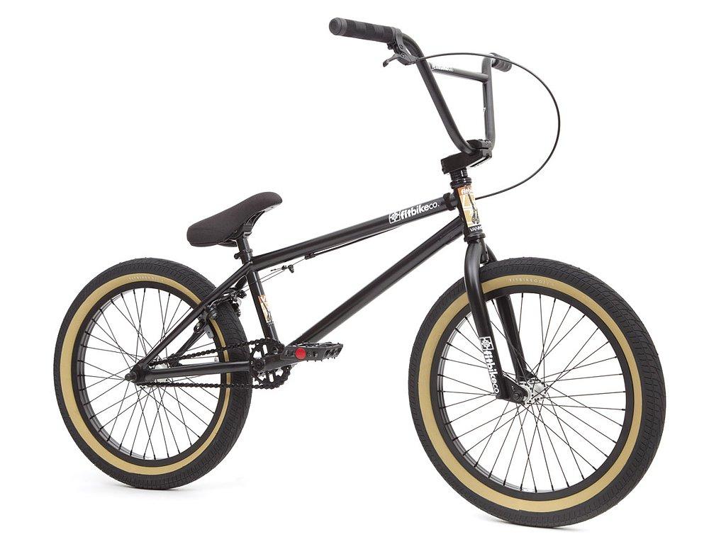 """Fit Bike Co. """"VH 1"""" 2016 BMX Bike - Matte Black ..."""