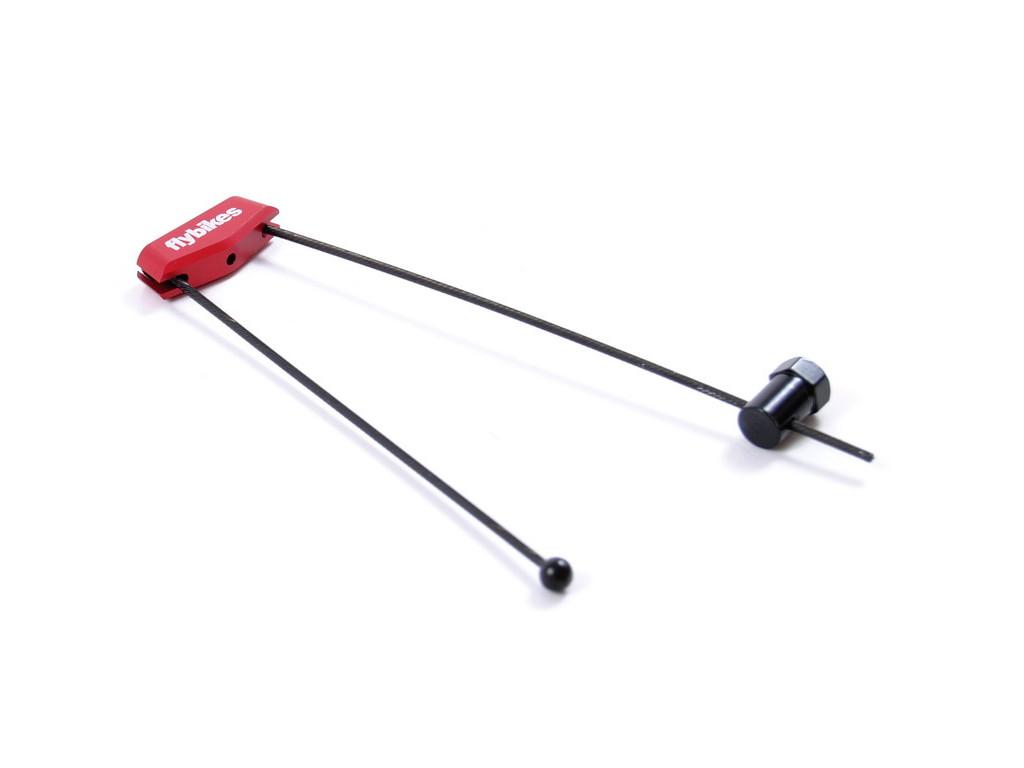 flybikes cable triangle kunstform bmx shop mailorder worldwide shipping. Black Bedroom Furniture Sets. Home Design Ideas