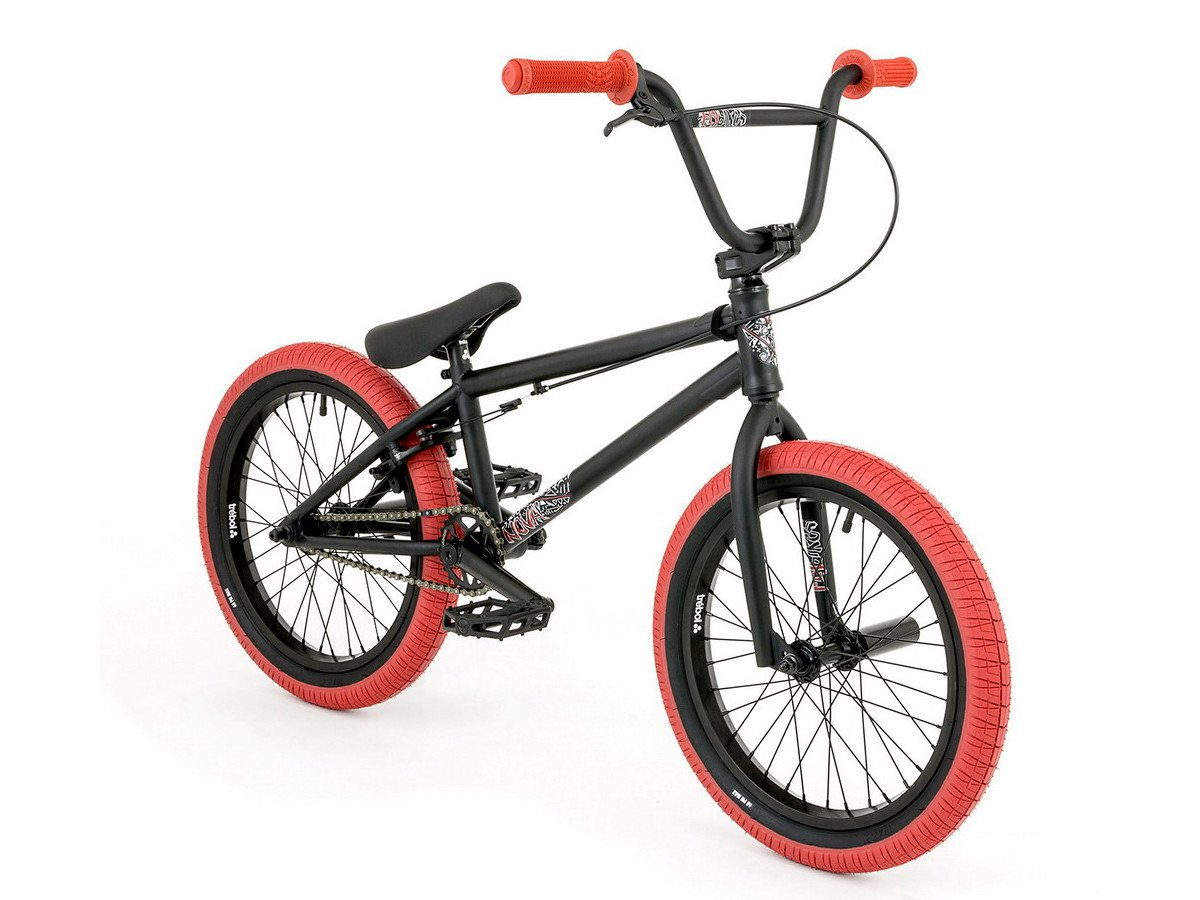 flybikes nova 18 2018 bmx rad 18 zoll flat black. Black Bedroom Furniture Sets. Home Design Ideas