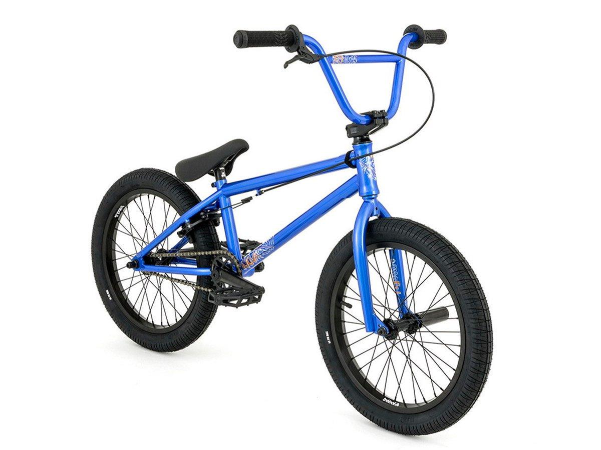 flybikes nova 18 2018 bmx bike 18 inch metallic blue. Black Bedroom Furniture Sets. Home Design Ideas