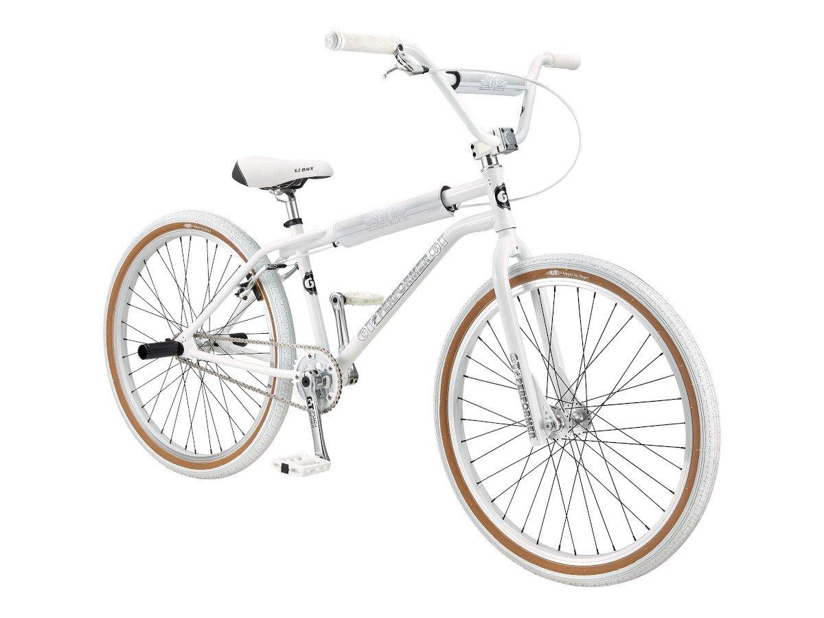 gt bikes pro performer heritage 26 2020 bmx cruiser rad white chrome 26 zoll kunstform. Black Bedroom Furniture Sets. Home Design Ideas