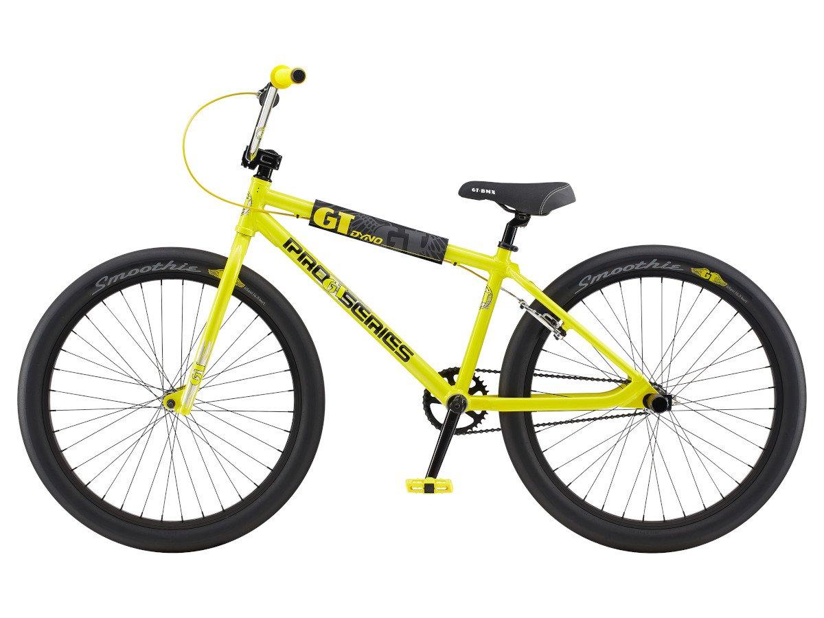 gt bikes pro series heritage 26 2020 bmx cruiser rad yellow black 26 zoll kunstform bmx. Black Bedroom Furniture Sets. Home Design Ideas