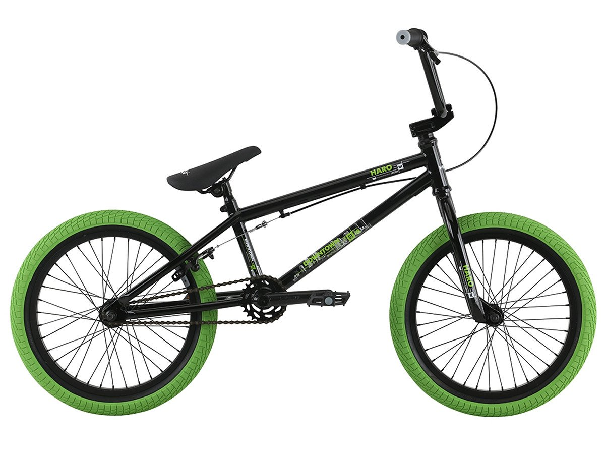 Haro bikes downtown 18 2017 bmx bike 18 inch gloss for Bmx store