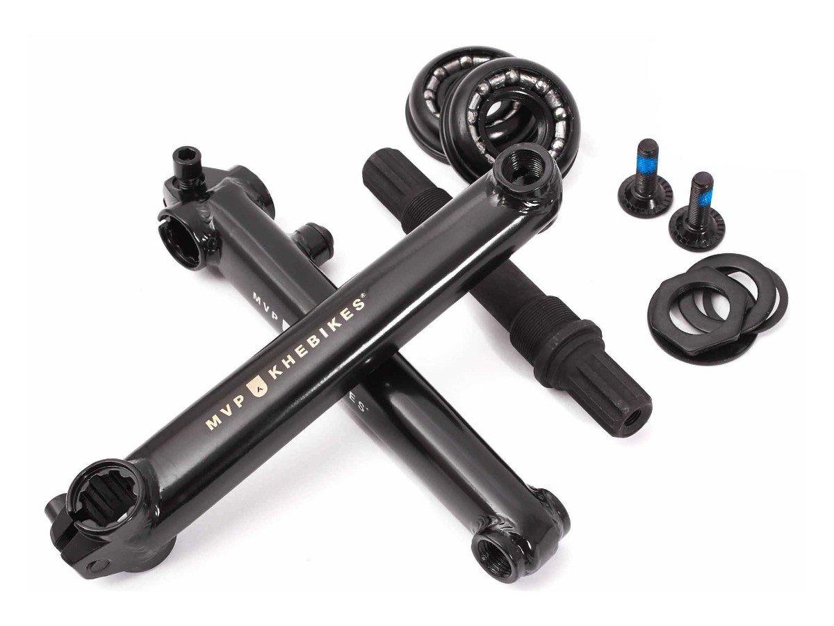 KHE MVP BMX Crmo Axle Bottom Bracket Mid BB 48T Industrial Storage 5 1//2in