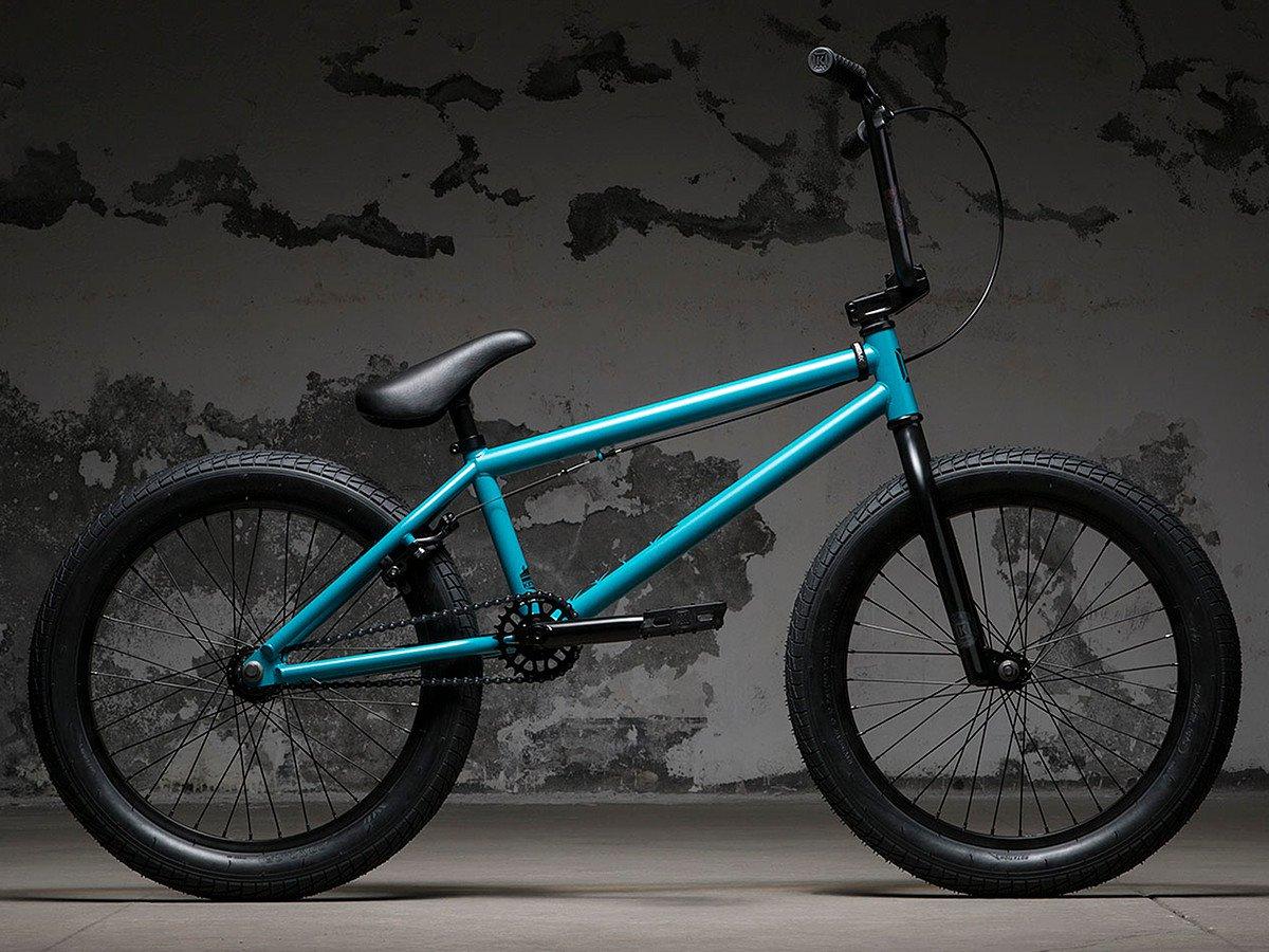kink bikes curb 2018 bmx bike matte retro turquoise. Black Bedroom Furniture Sets. Home Design Ideas