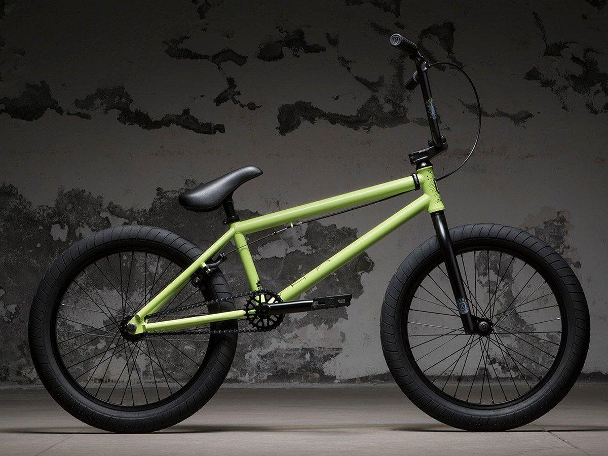 kink bikes launch 2018 bmx rad matte retro green. Black Bedroom Furniture Sets. Home Design Ideas