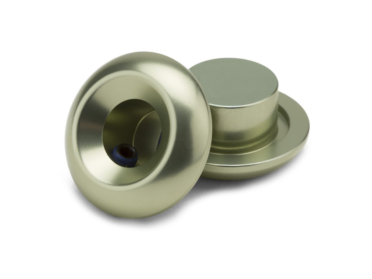 Green Loaded X-lite Alloy Headset Spacers W//Machined Inner Groves 9 grams//set