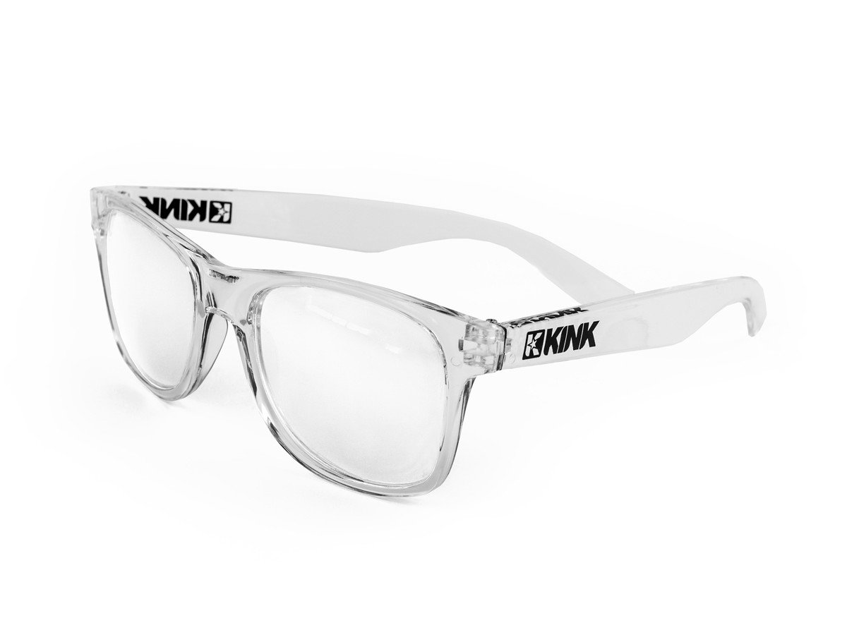 Kink BMX Safety Sun Glasses Black//Green