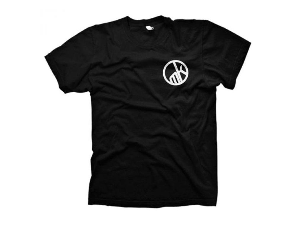 Mankind bike co team t shirt black kunstform bmx for Bike and cycle shoppe shirt
