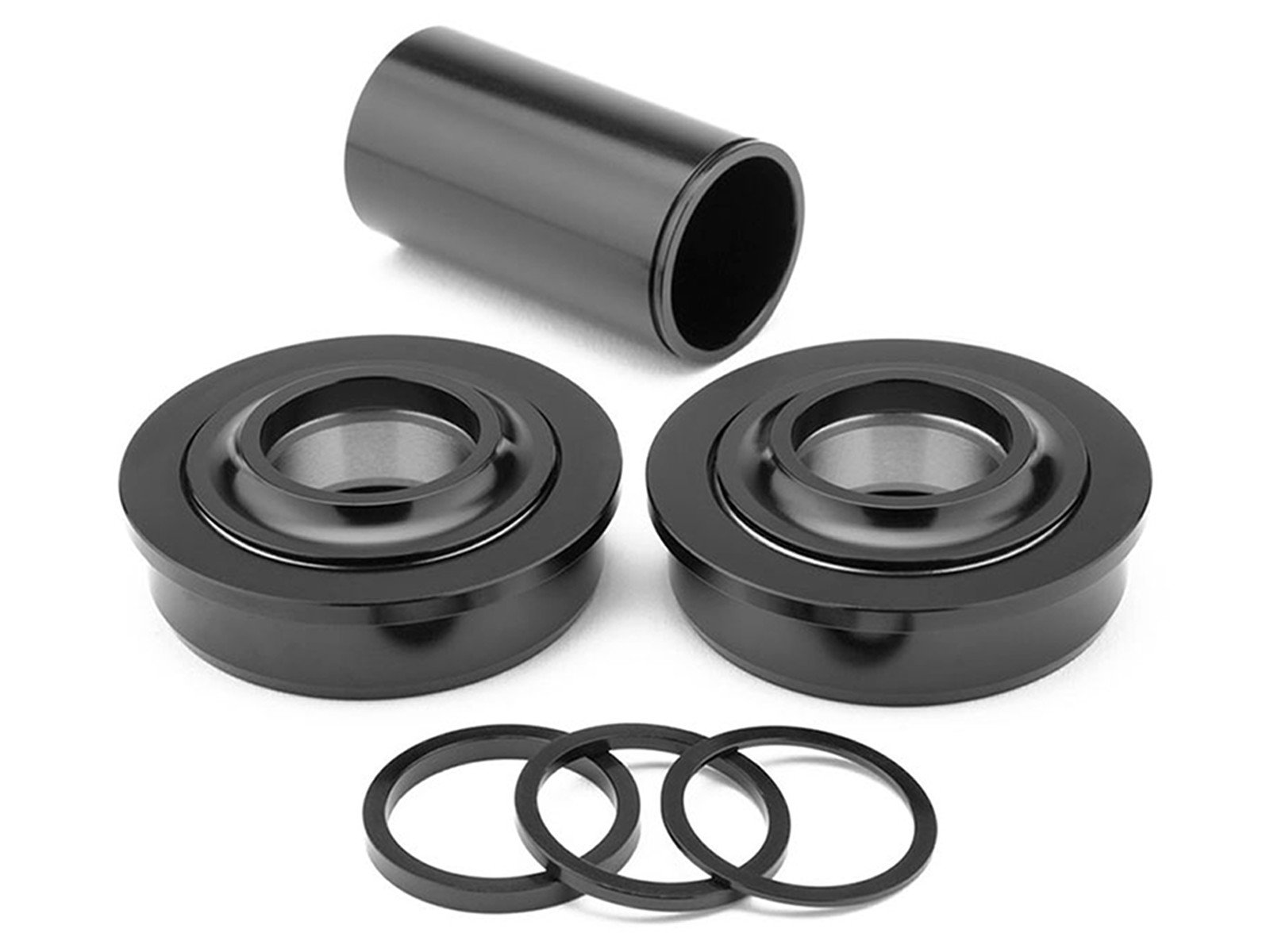 MISSION SPANISH BOTTOM BRACKET BLACK 22MM BMX CRANK BEARINGS