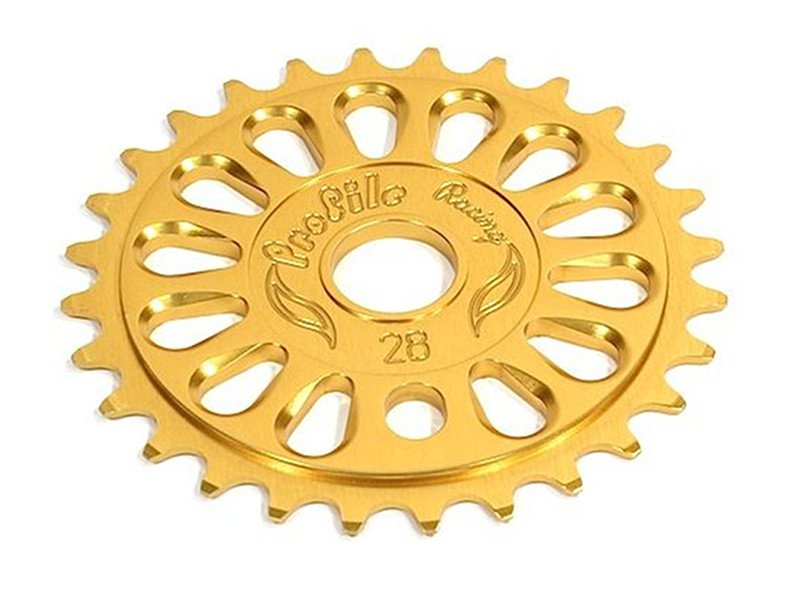 BMX Sprocket Alloy USA Made by PROFILE Imperial 25T Polished