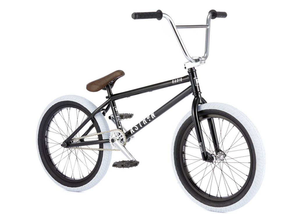 Radio bikes astron 2016 bmx bike glossy black for Bmx store