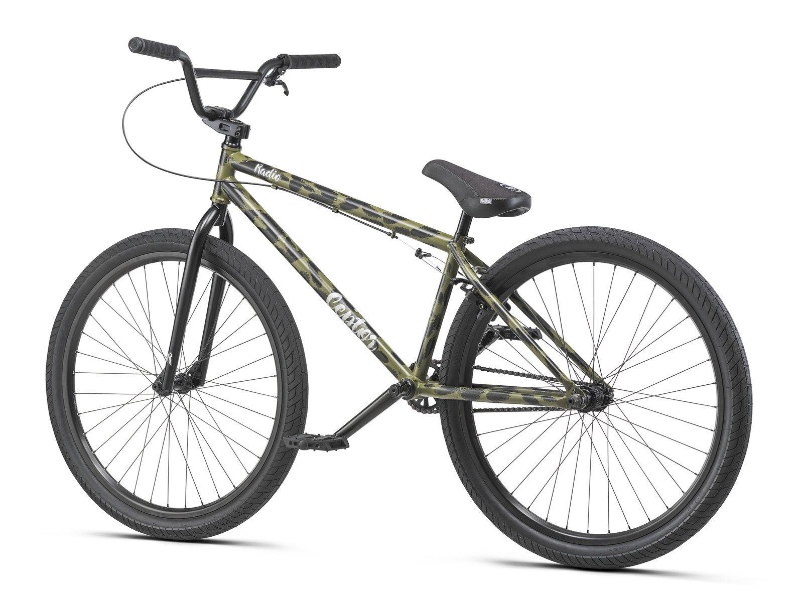 radio bikes ceptor 26 2019 bmx cruiser rad matt olive. Black Bedroom Furniture Sets. Home Design Ideas