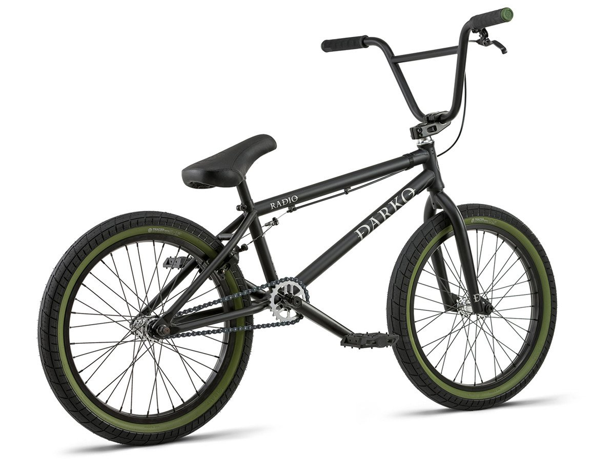 Radio bikes darko 2018 bmx rad matt black kunstform for Bmx store