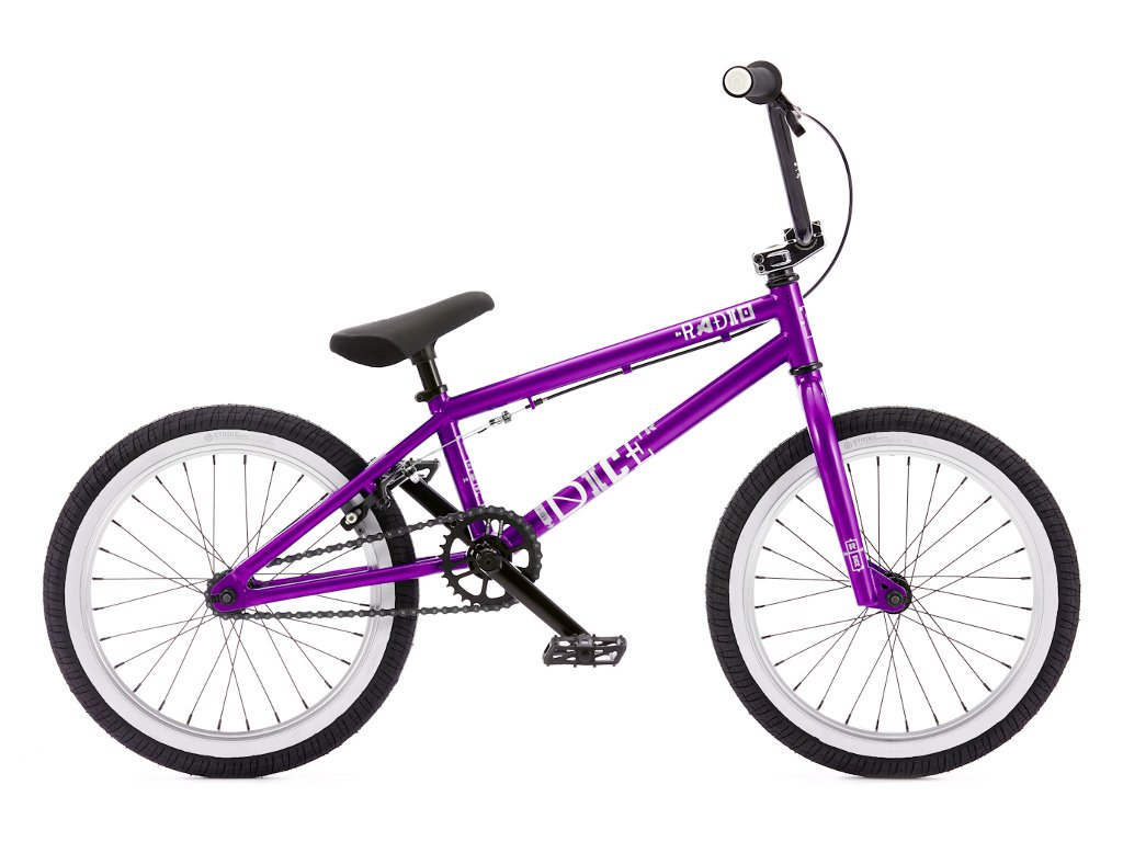 Radio bikes dice 18 2016 bmx bike 18 inch glossy for Bmx store