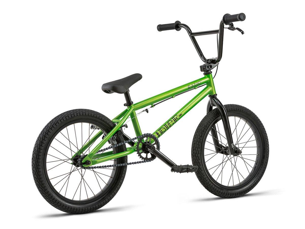 radio bikes dice 18 2018 bmx rad 18 zoll metallic. Black Bedroom Furniture Sets. Home Design Ideas