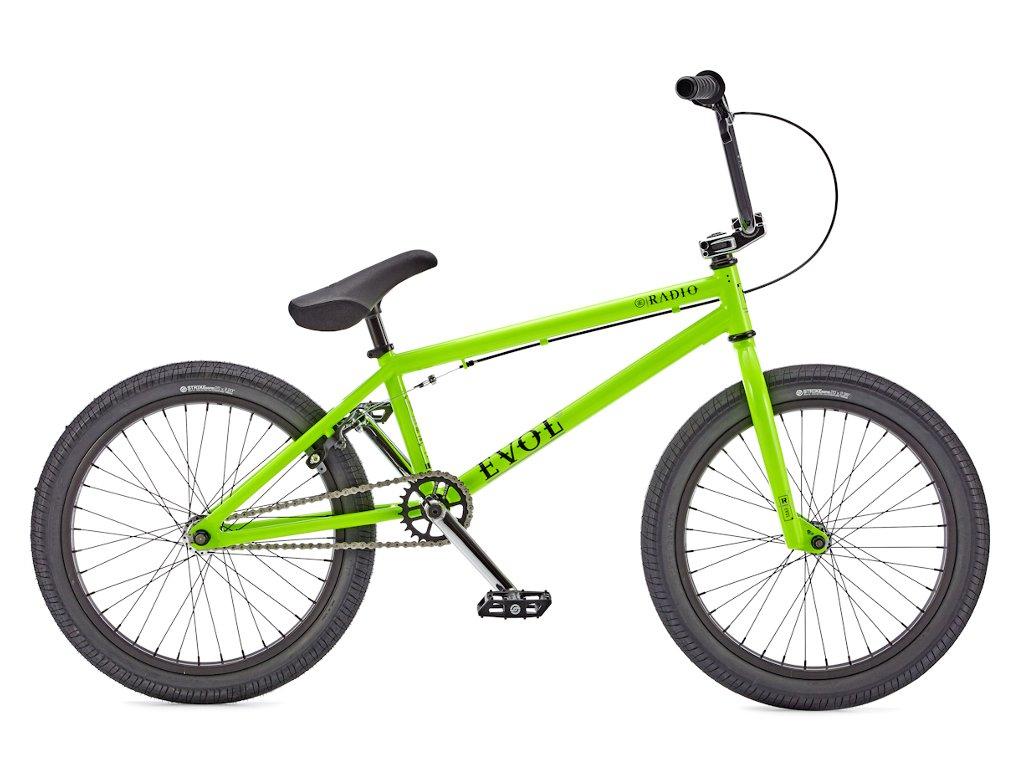 radio bikes evol 2016 bmx rad glossy neon green kunstform bmx shop mailorder deutschland. Black Bedroom Furniture Sets. Home Design Ideas