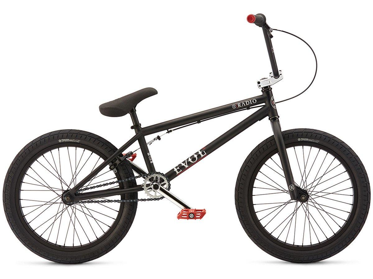 radio bikes evol 2017 bmx rad matt black kunstform bmx shop mailorder deutschland. Black Bedroom Furniture Sets. Home Design Ideas