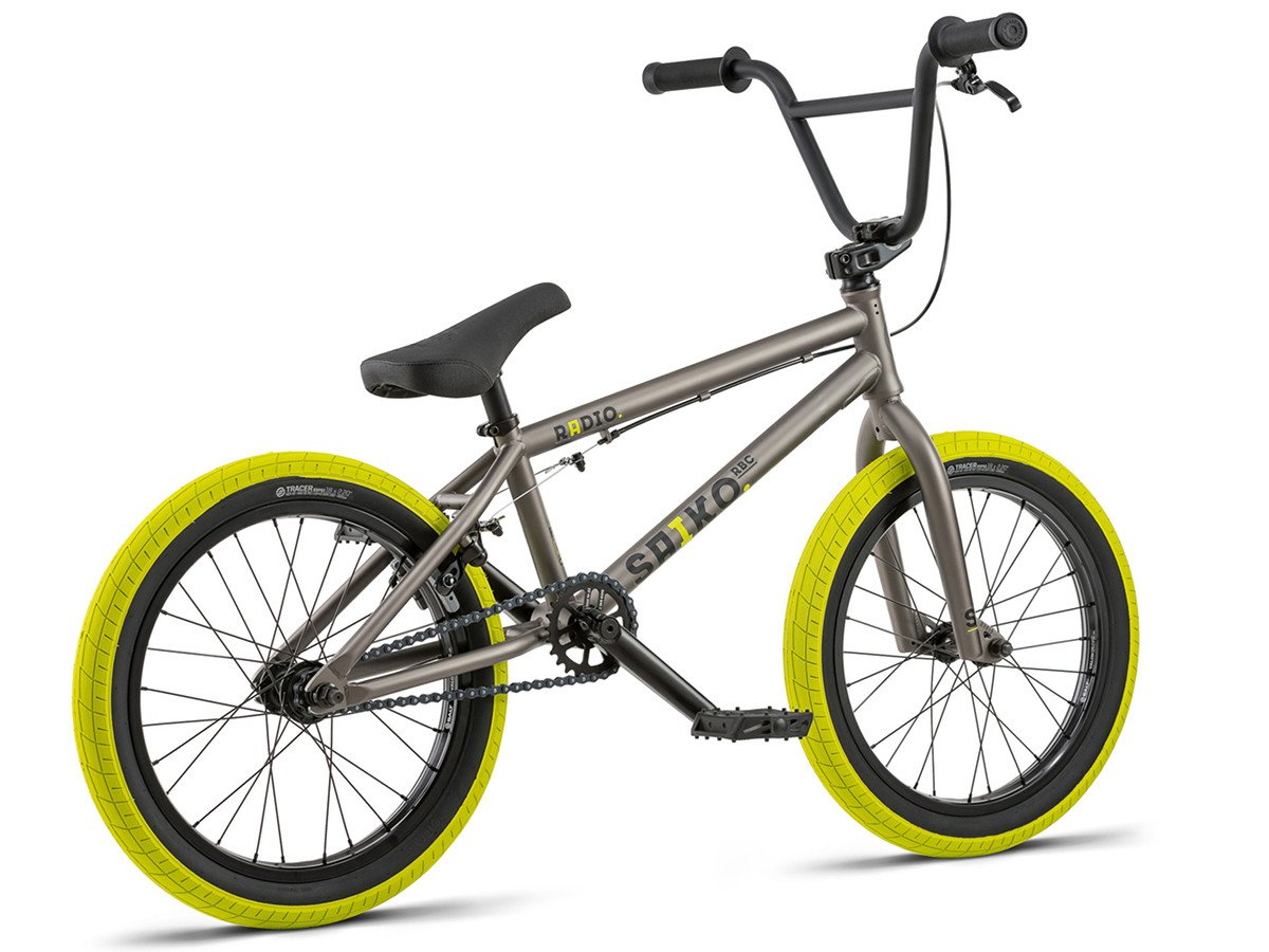 radio bikes saiko 18 2018 bmx rad 18 zoll steel grey. Black Bedroom Furniture Sets. Home Design Ideas