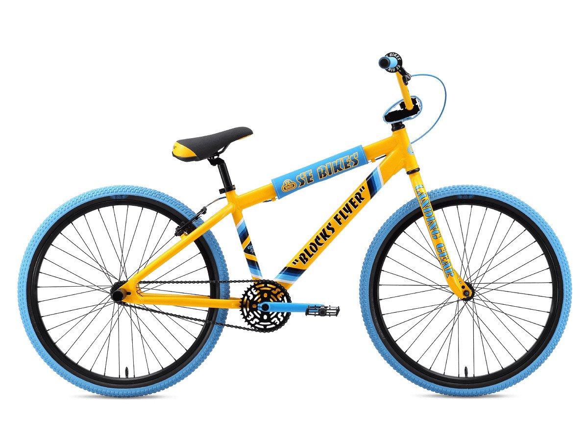 se bikes blocks flyer 26 2020 bmx cruiser rad 26 zoll yellow kunstform bmx shop. Black Bedroom Furniture Sets. Home Design Ideas