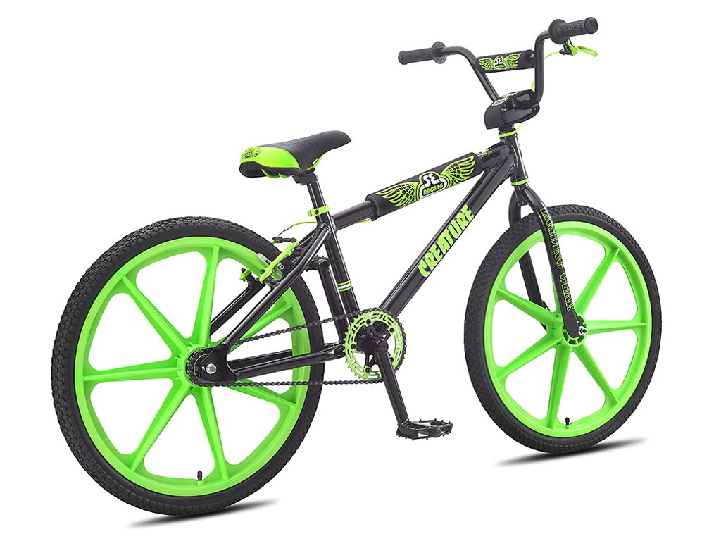 se bikes creature 24 2016 bmx cruiser rad 24 zoll. Black Bedroom Furniture Sets. Home Design Ideas