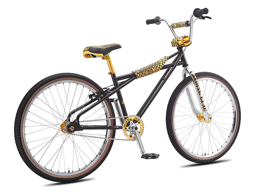 "Mtb 26 Zoll Radumpfang Evo Ls: SE Bikes ""Quadangle Looptail 26"" 2016 BMX Cruiser Bike"