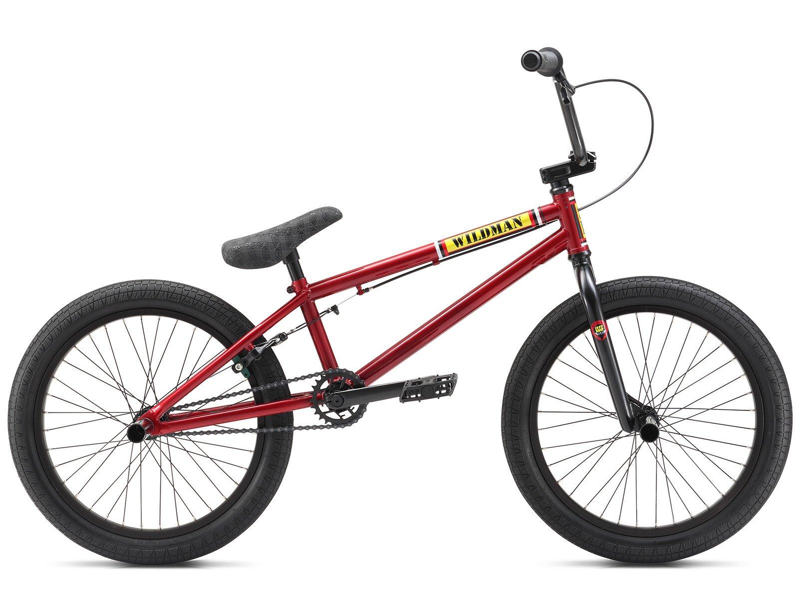 se bikes wildman 2018 bmx bike red metal kunstform. Black Bedroom Furniture Sets. Home Design Ideas