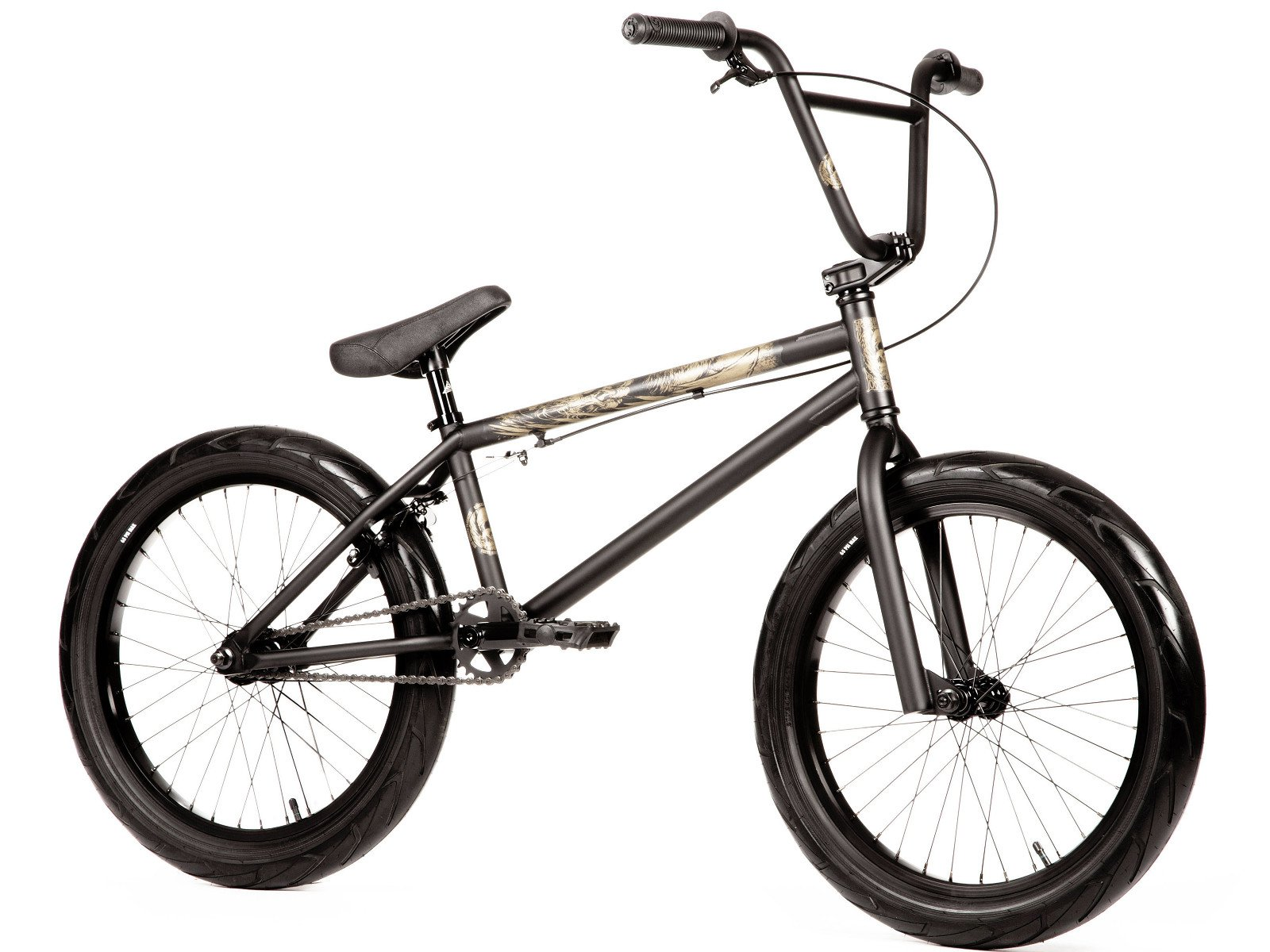 Stereo Bikes Amp 2018 Bmx Bike Sooty Matt Black Kunstform