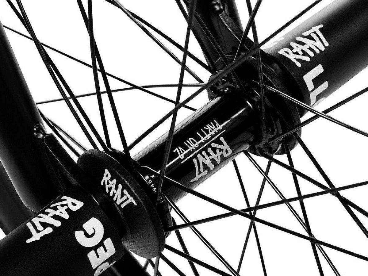"""RANT PARTY ON V2 BMX BIKE BIKE 20/"""" REAR WHEEL FIT CULT SHADOW SUBROSA SILVER RHD"""