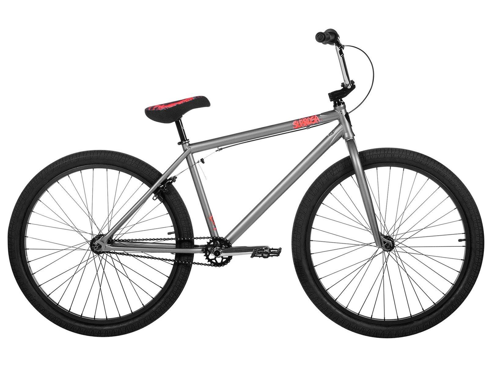 subrosa bikes salvador 26 2017 bmx cruiser bike satin phosphate 26 inch kunstform bmx. Black Bedroom Furniture Sets. Home Design Ideas