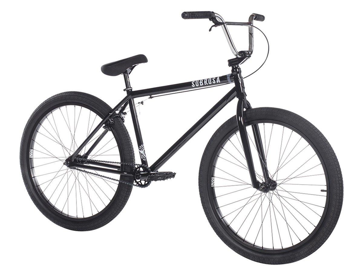 subrosa bikes salvador 26 2018 bmx cruiser bike gloss black 26 inch kunstform bmx shop. Black Bedroom Furniture Sets. Home Design Ideas