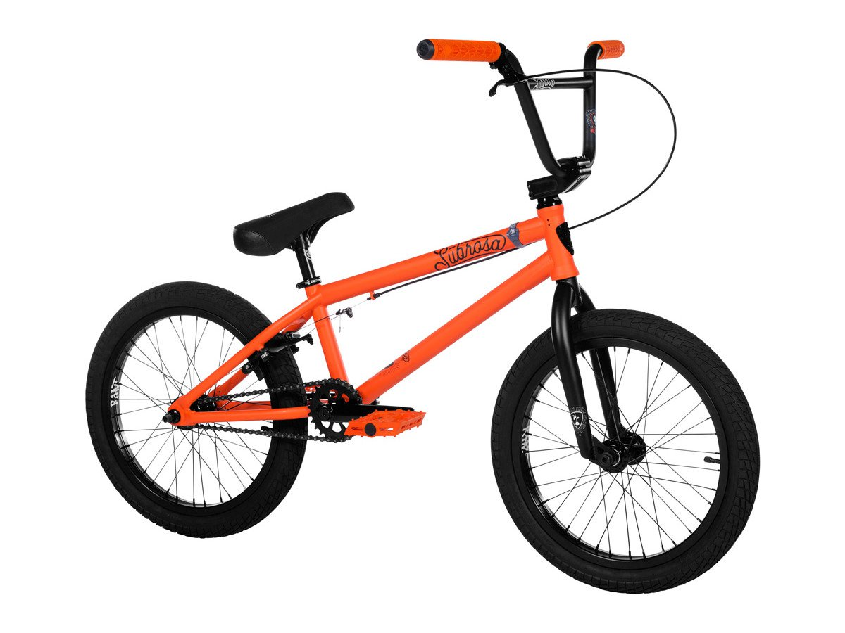 subrosa bikes tiro 18 2019 bmx rad satin combat orange. Black Bedroom Furniture Sets. Home Design Ideas