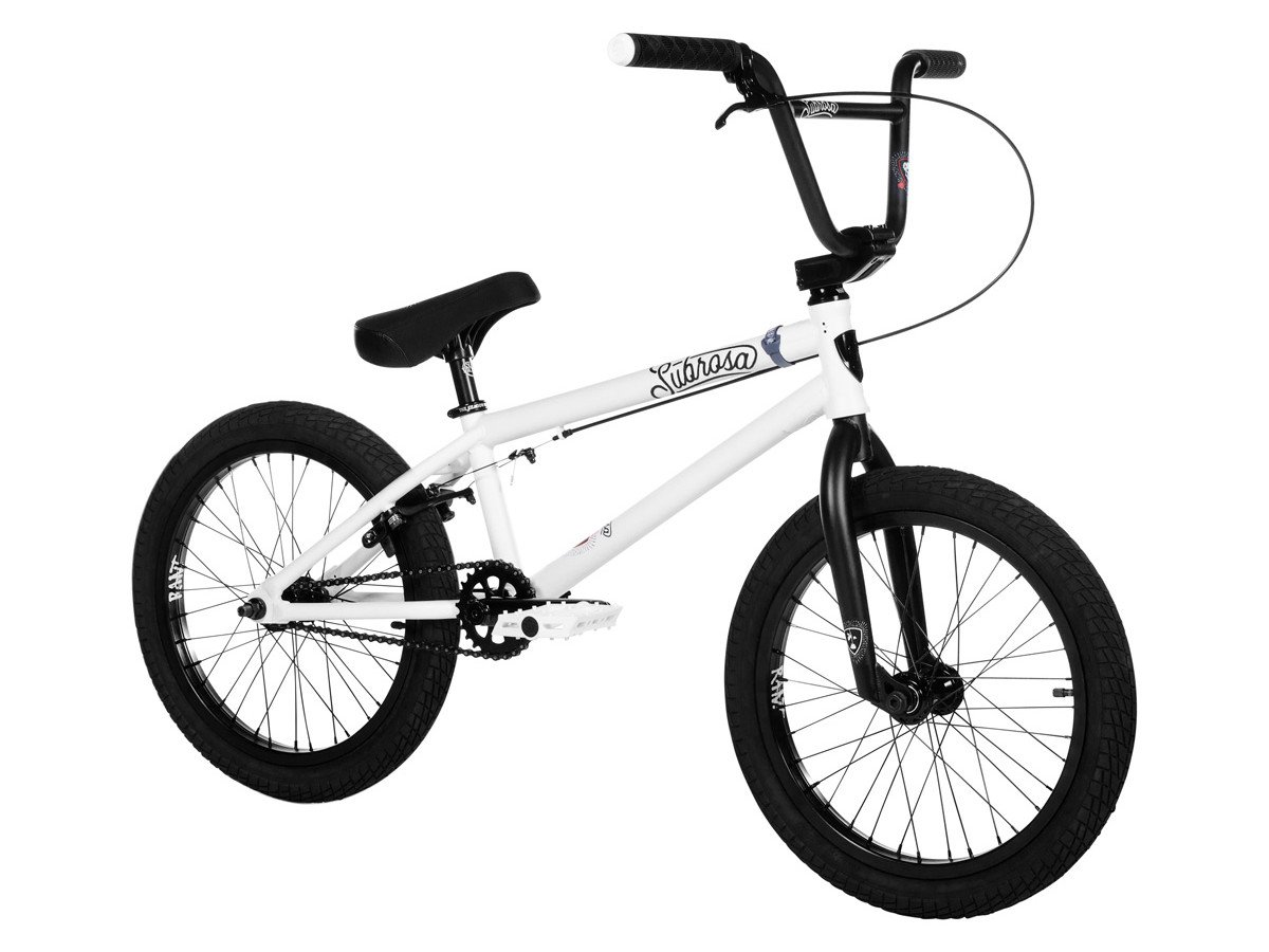 subrosa bikes tiro 18 2019 bmx rad satin white 18. Black Bedroom Furniture Sets. Home Design Ideas
