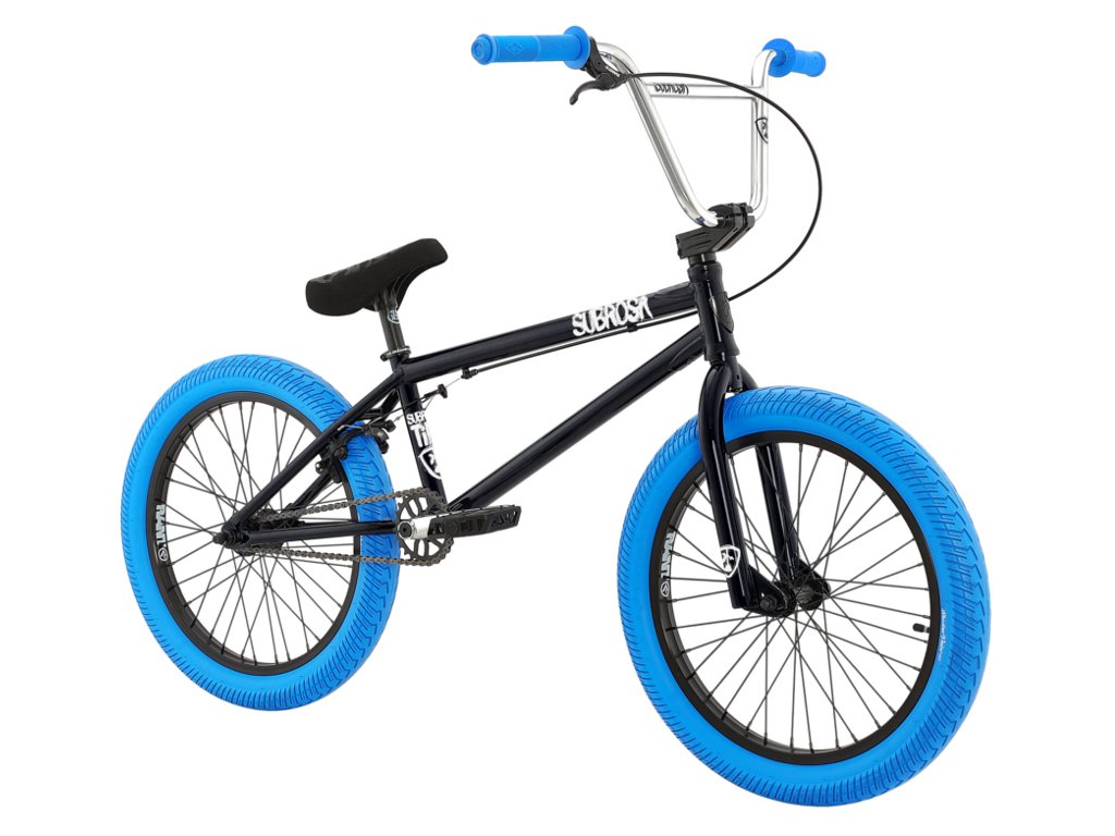 Subrosa Bikes Quot Tiro Xl Quot 2016 Bmx Bike Gloss Black Blue