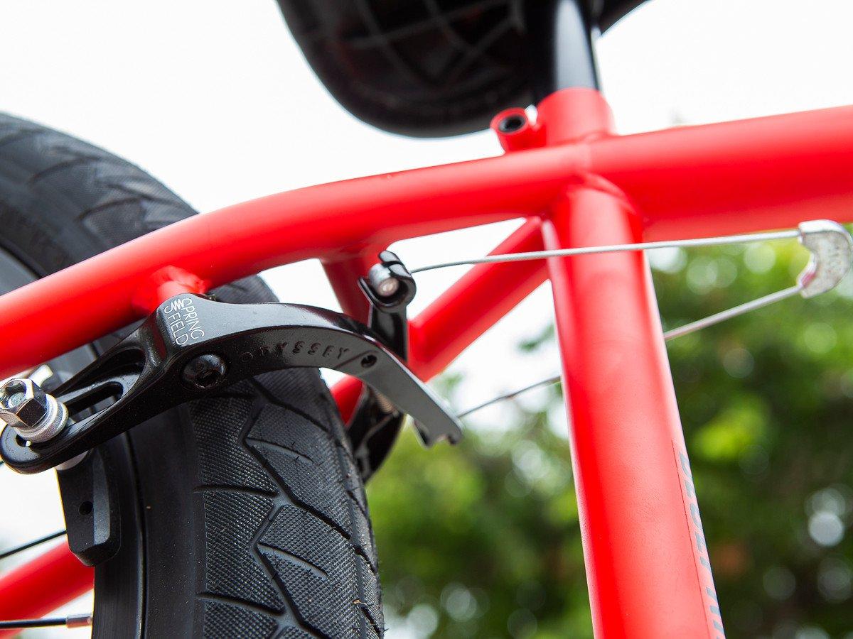 End Plugs Press In Merritt BMX Bicycle Handlebar End Caps Red