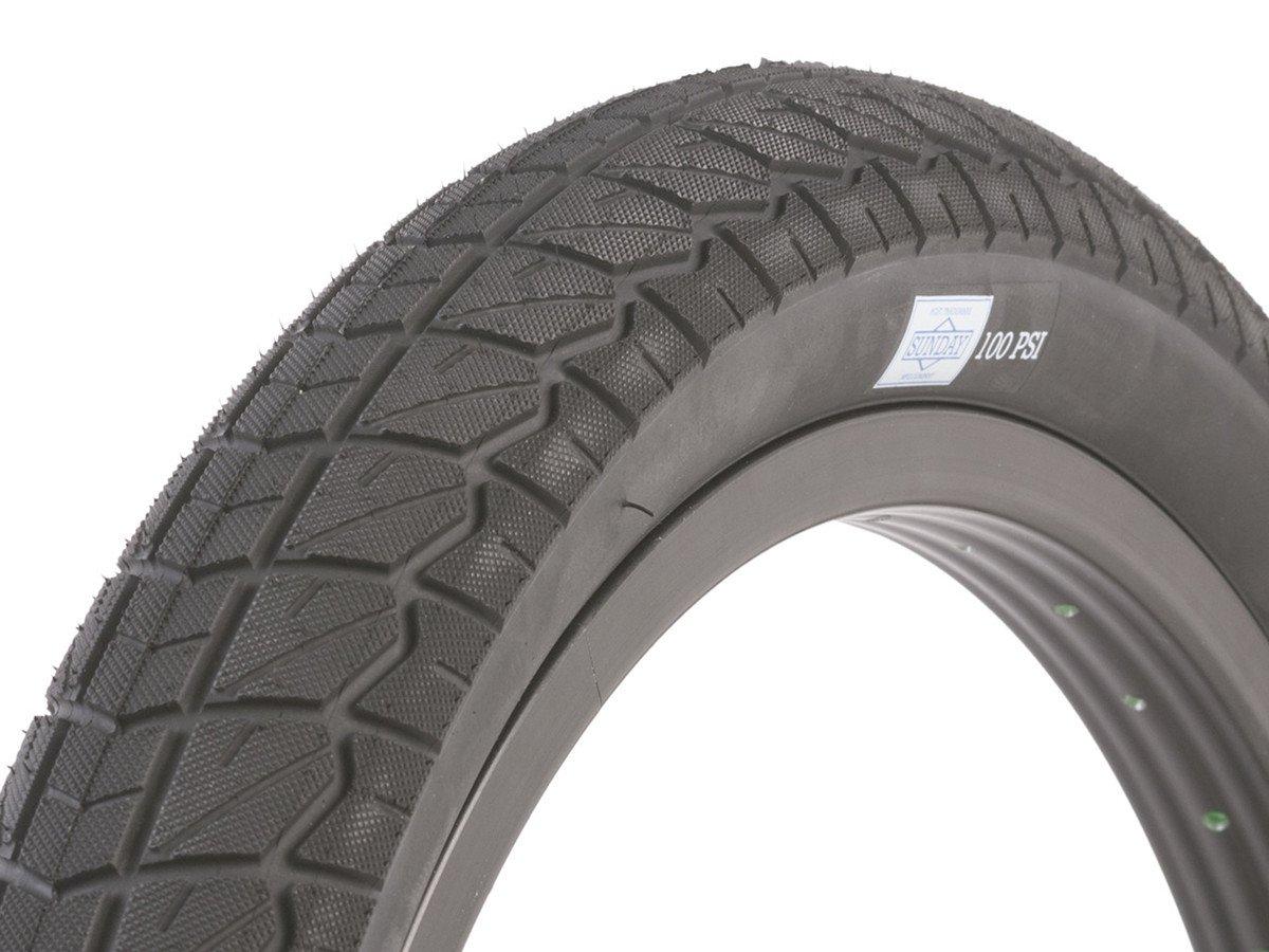 18 Inch Tires >> Sunday Bikes Current 18 Bmx Tire 18 Inch Black 2 20